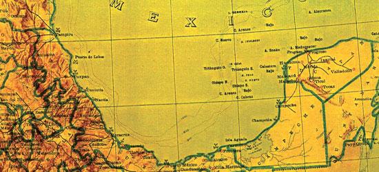 Mapa Bermeja