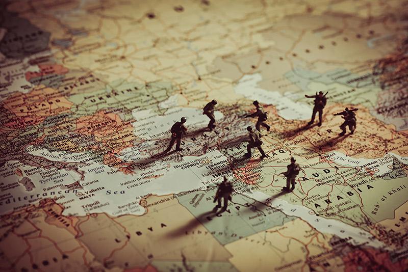 Siria, Venezuela, Bolivia y Latam