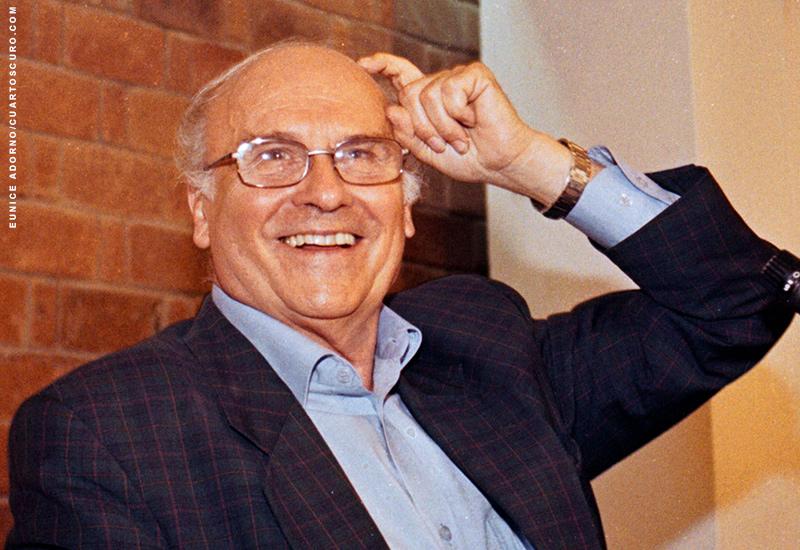 Ryszard Kapuscinski en México