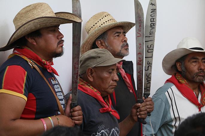 rente de Pueblos en Defensa de la Tierra (FPDT) de Atenco