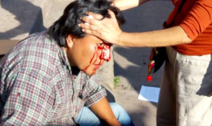 Represión en Tepoztlán