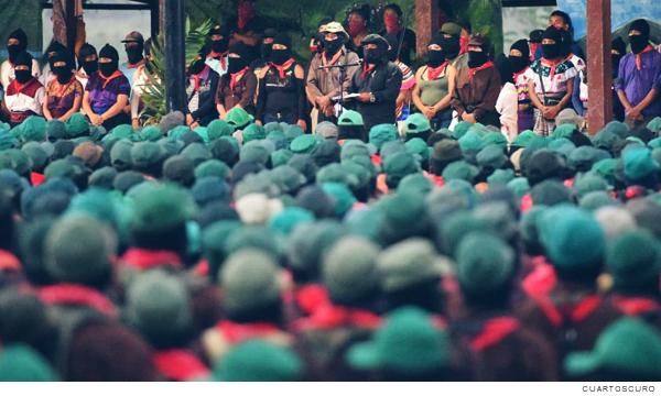 integrantes del EZLN