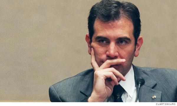 Lorenzo Córdova, consejero presidente del INE