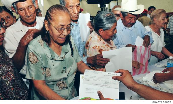 Programas sociales, pensiones para adultos mayores