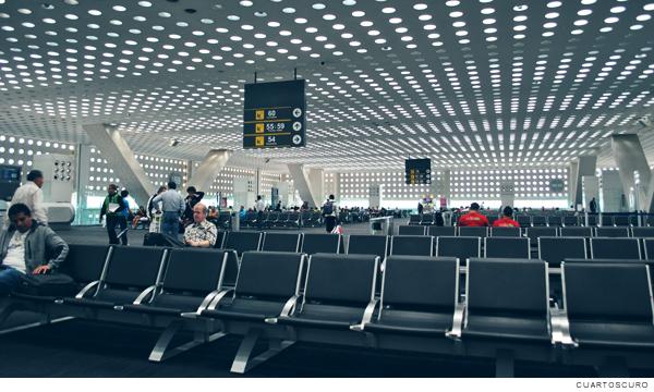 Sala de espera en el Aeropuerto