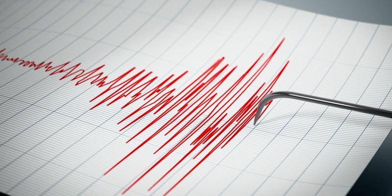 sismógrafo, mide la intensidad de los sismos