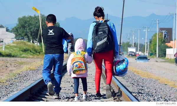 migrantes menores de edad