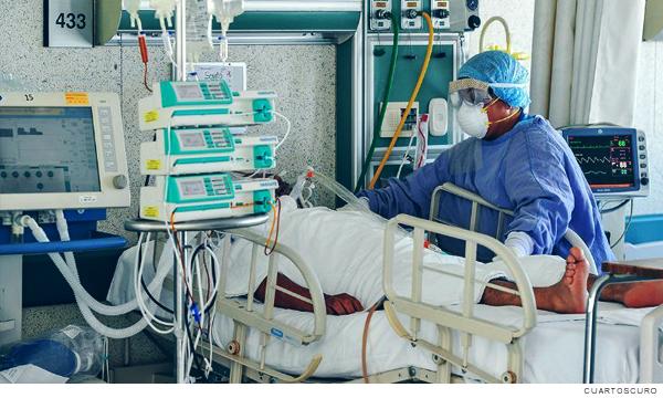 Zona de personas hospitalizadas