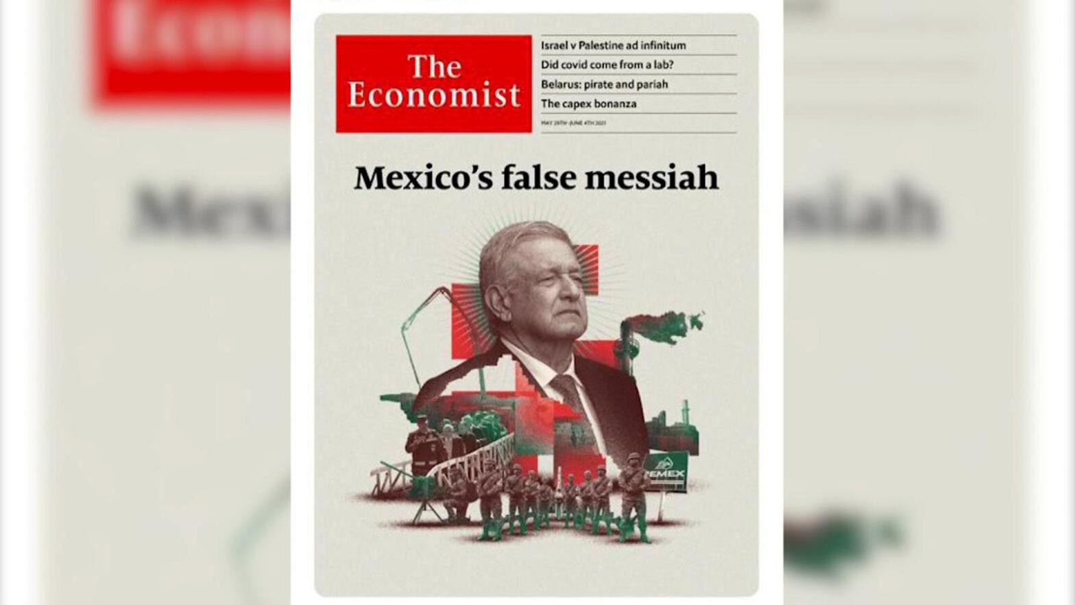 Portada del diario The Economist