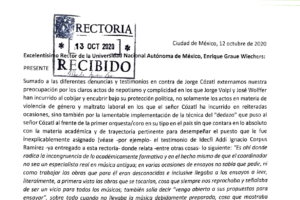 Académica de Música Antigua de la UNAM