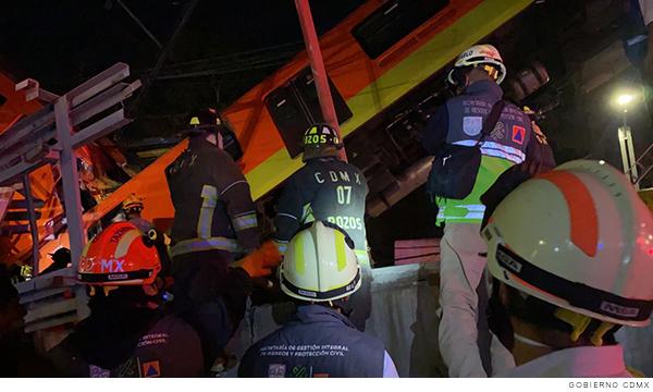 Accidente en línea 12 del metro