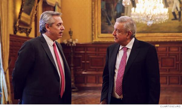 Presidente de Argentina y Presidente de México