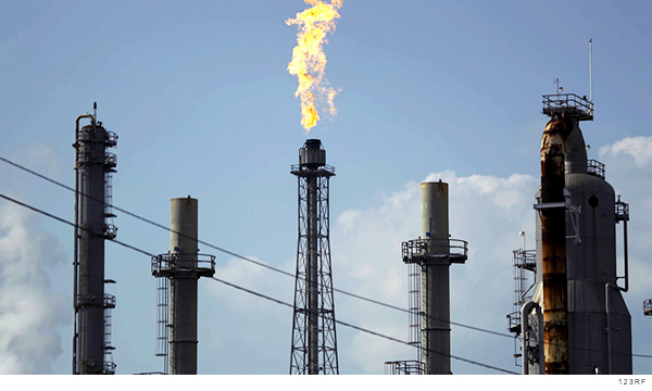refinería en Deer Park