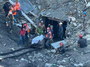 Rescate de minero en la mina Micarán