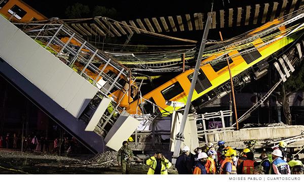 Colapso en la Línea 12 del metro