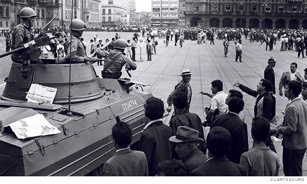 represión de 1971 en México