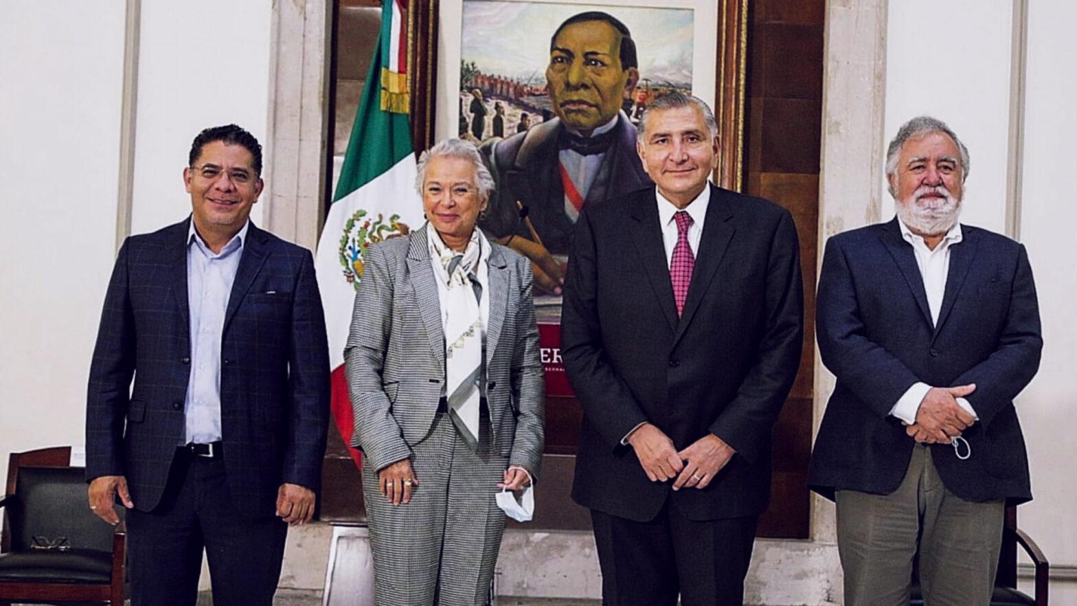 Adán Augusto López Hernández asumió la Secretaría de Gobernación (Segob), en sustitución de la ministra en retiro Olga Sánchez Cordero