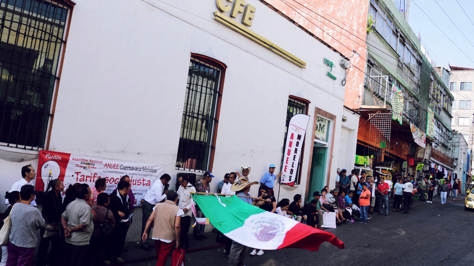 Imagen de una manifestacion de ciduadanos