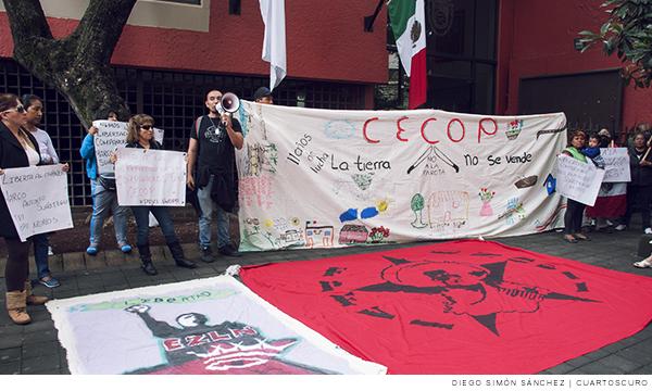 Integrantes del Consejo de Ejidos y Comunidades Opositores a la Presa La Parota