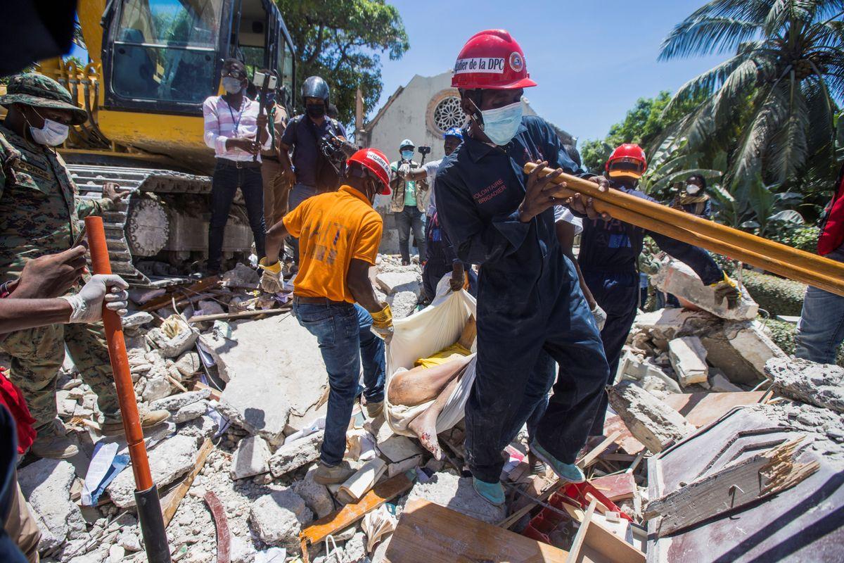 Haití, tras el terremoto de 7.2 grados