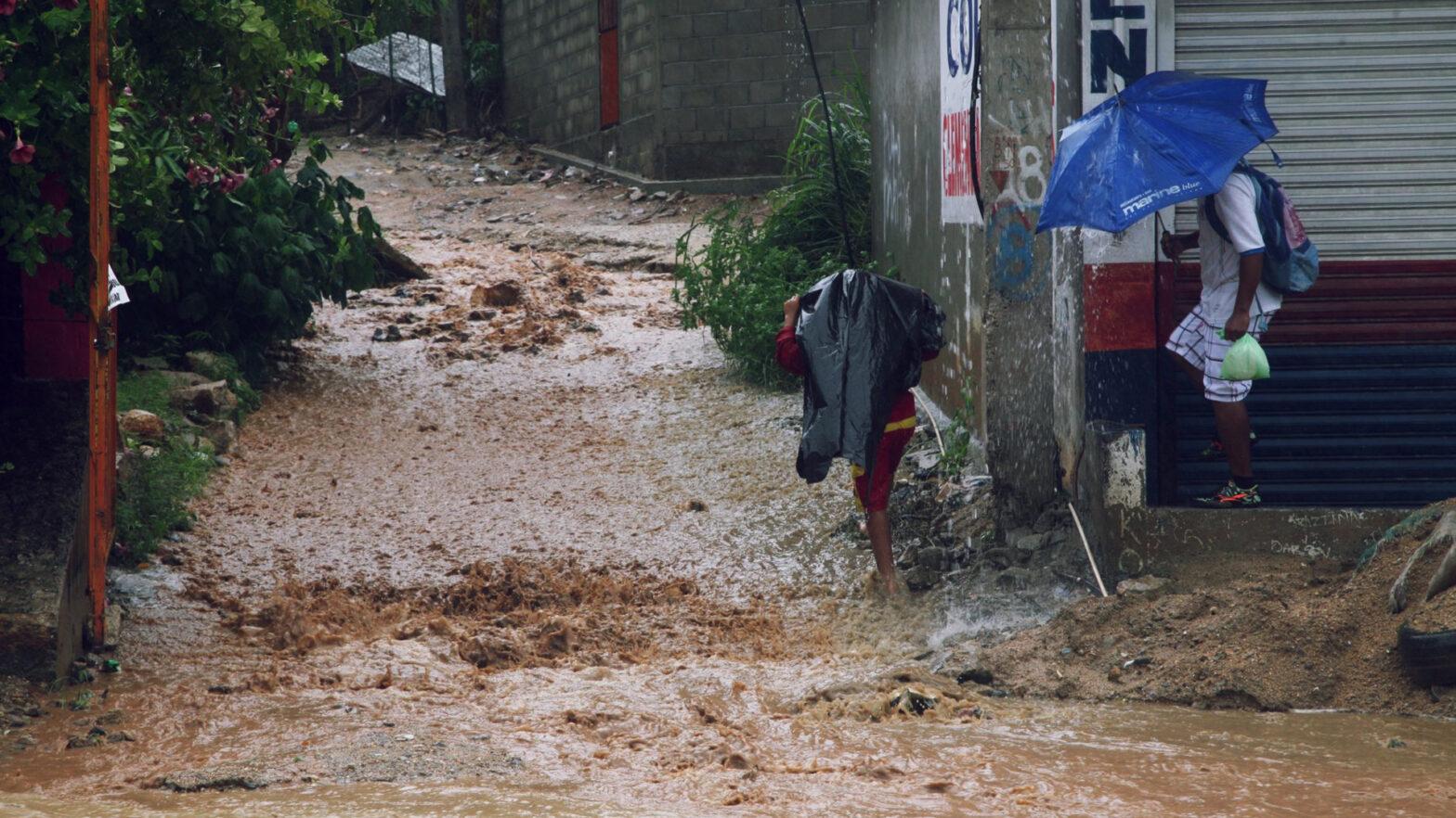 Huracán Grace en Veracruz