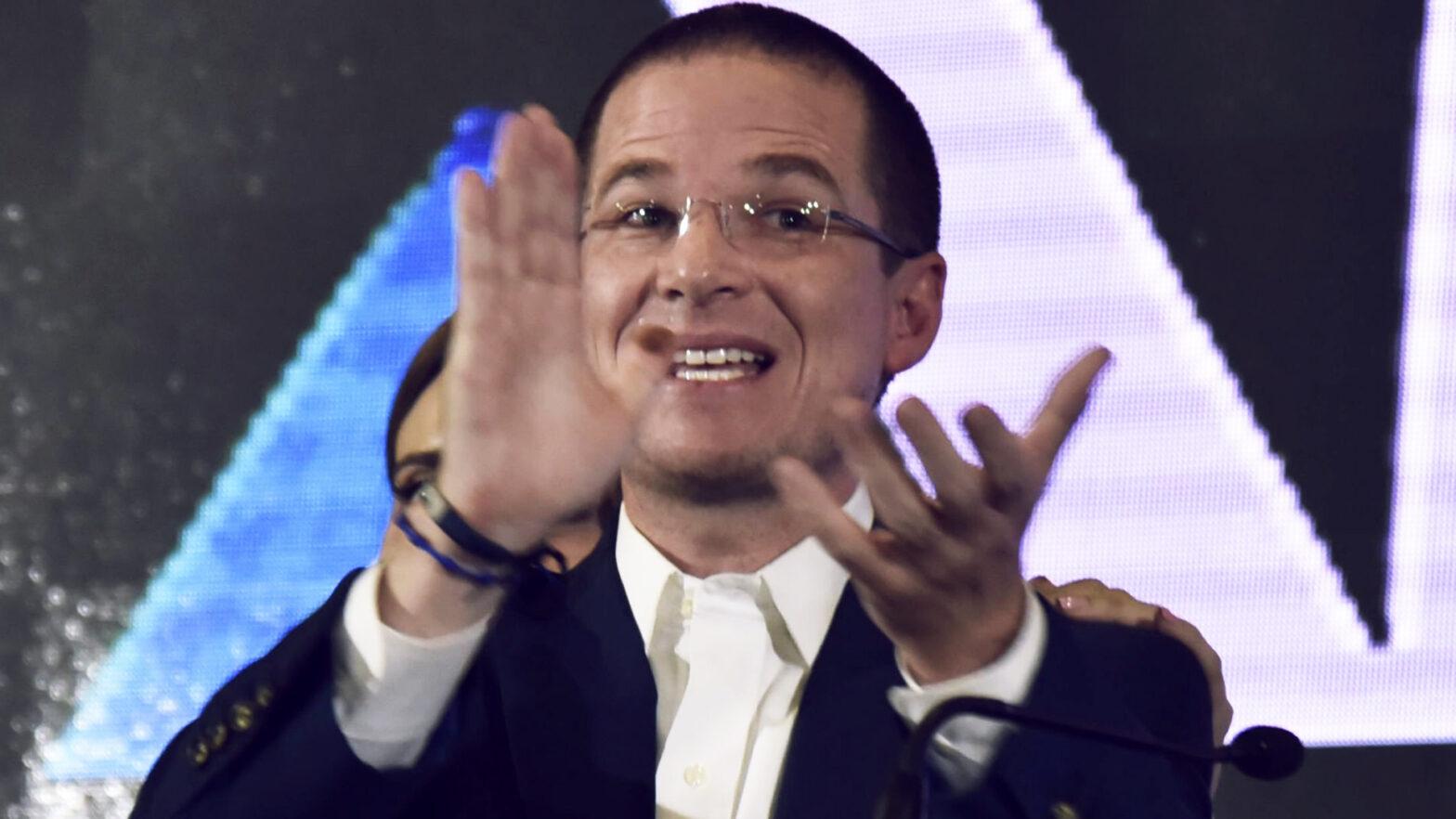 el panista Ricardo Anaya
