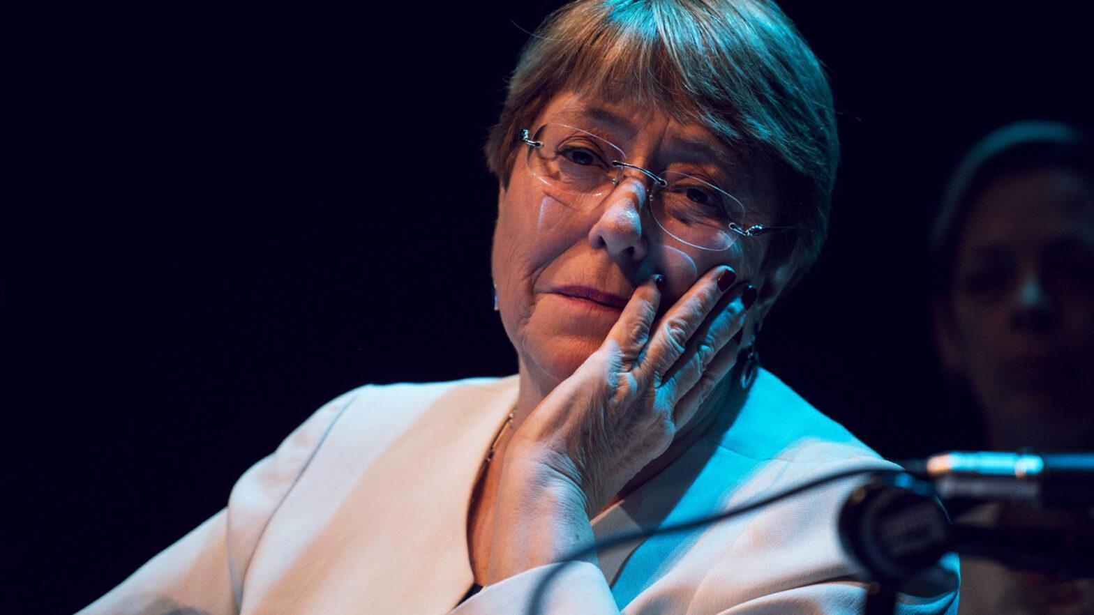 La Alta Comisionada de la ONU Michelle Bachelet
