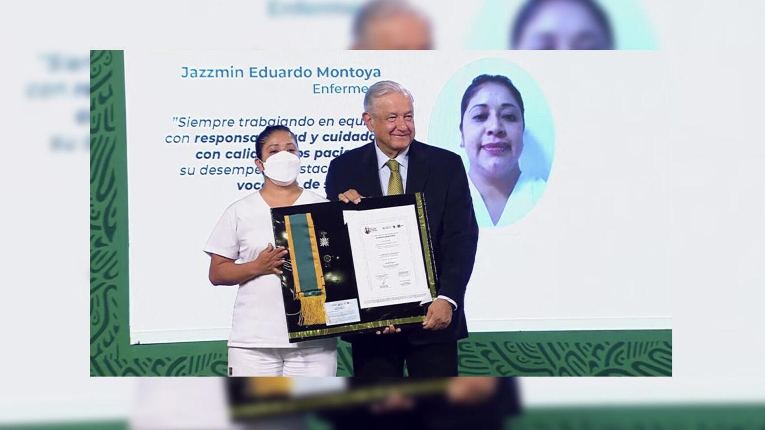 condecoraciones Miguel Hidalgo al personal de salud