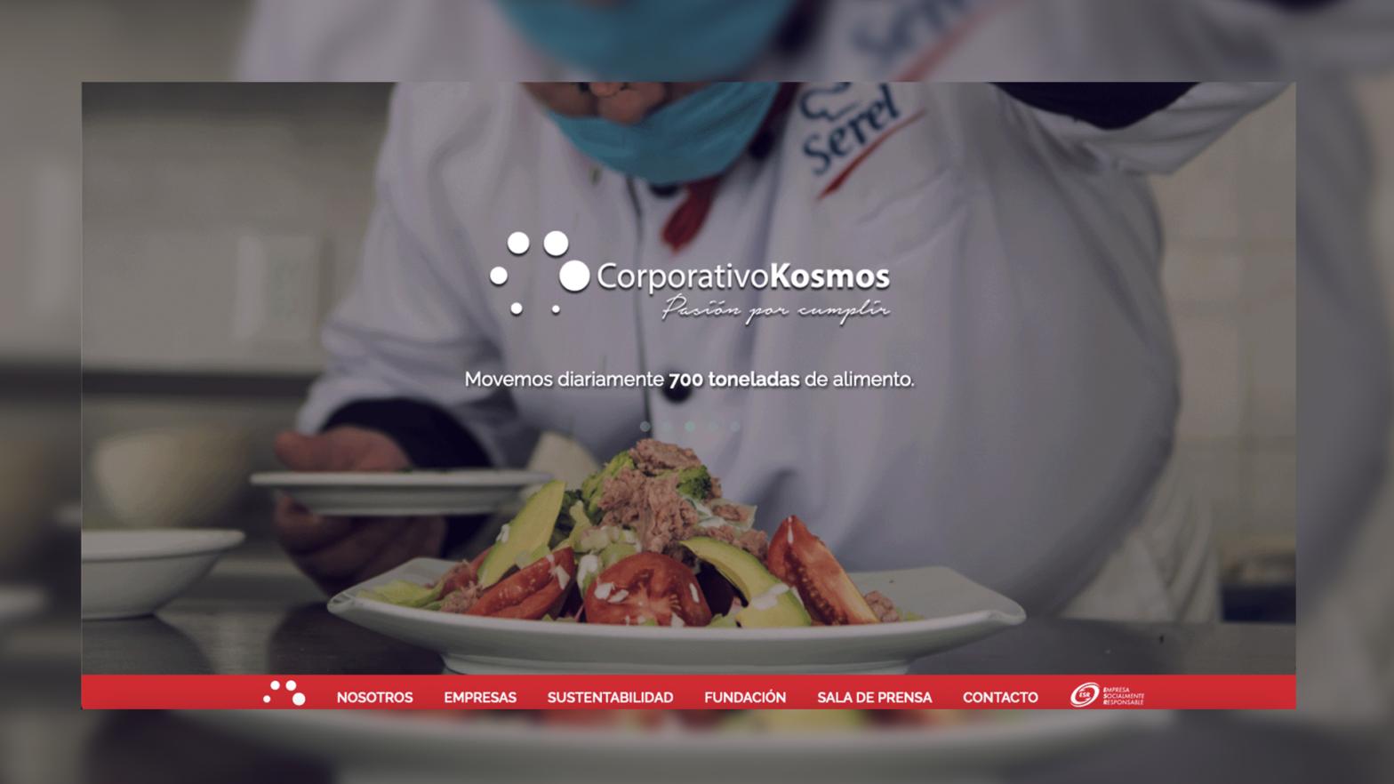 publicidad de grupo Kosmos