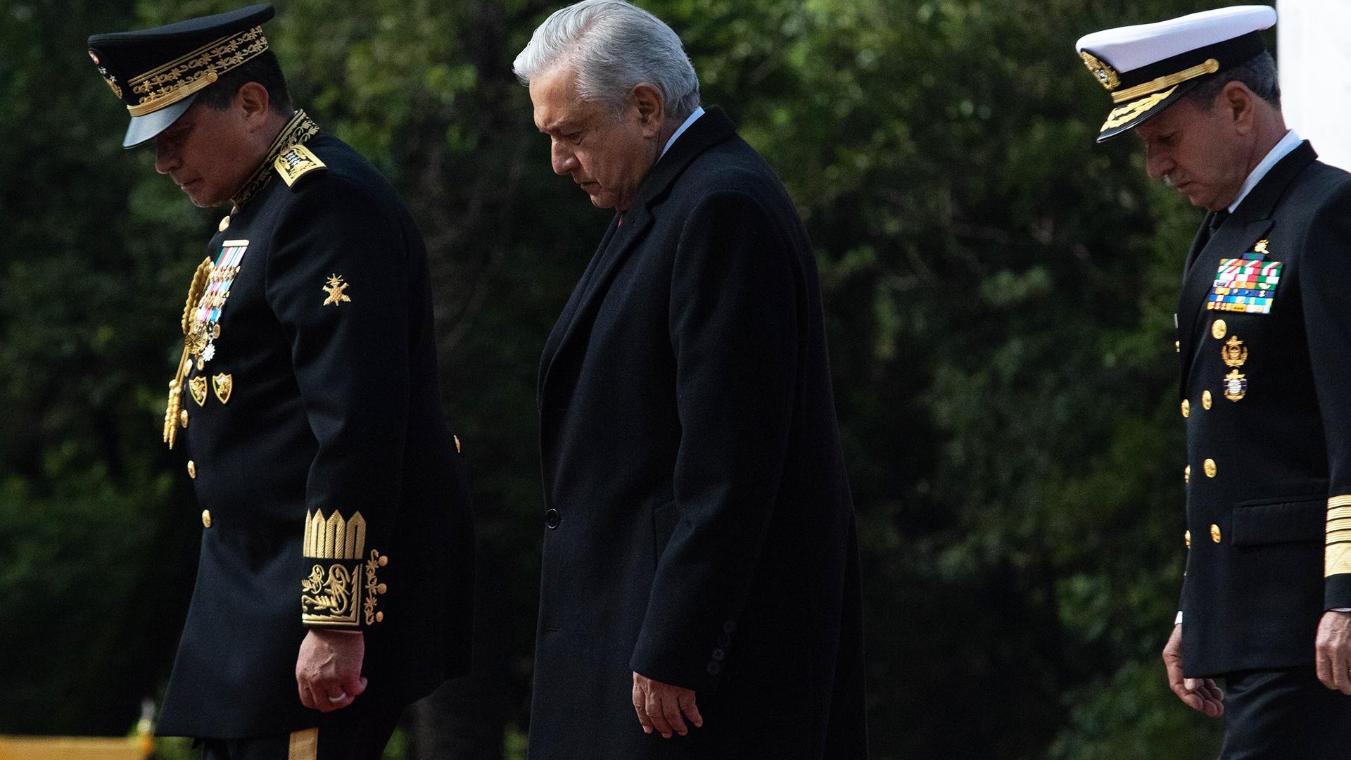 López Obrador conmemoró el 174 Aniversario de la Gesta Heroica de los Niños Héroes de Chapultepec