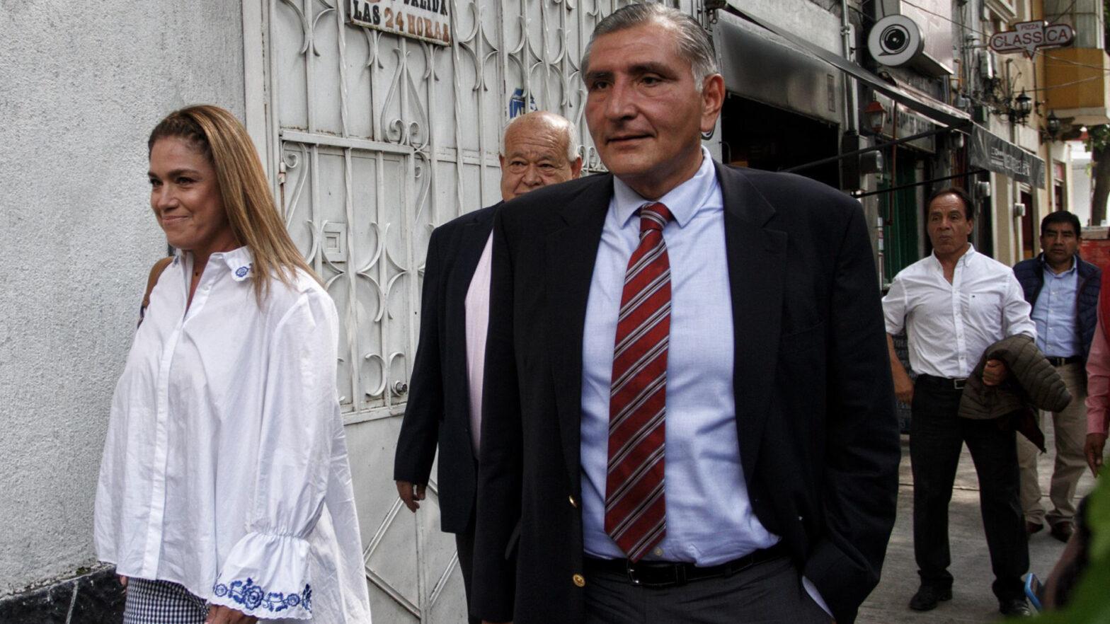 secretario de Gobernación, Adán Augusto López